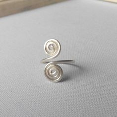 Items similar to wire silver ring adjustable. made in Ireland. on Etsy Wire Rings, Belly Button Rings, Ireland, Silver Rings, Trending Outfits, Unique Jewelry, Handmade Gifts, How To Make, Etsy