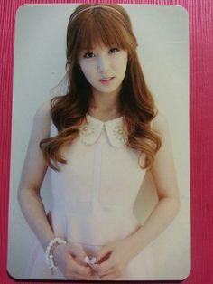 APINK CHORONG Official Photo Card #2 3rd Mini Album Secret Garden CHO RONG