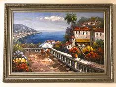 a1da74abc4a8 Vintage Large Oil Painting 43