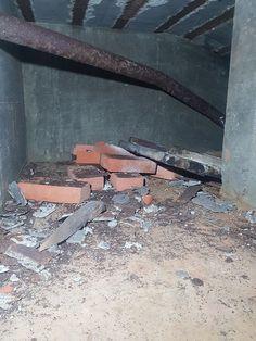 Atlantikwall Regelbau - Radar Bunker with Socket for Wassermann S Radar Abandoned Buildings, Abandoned Places, Bunker Home, Secret Bunker, Bunker Hill Monument, Doomsday Bunker, Underground Bunker, Safe Room, East Germany