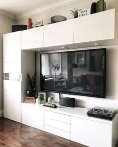 The entertainment hub - Ikea Besta is the Best! : The entertainment hub - Ikea Besta is the Best! Living Room Built Ins, Living Room Wall Units, Ikea Living Room, Living Room Designs, Living Rooms, Ikea Tv Unit, Tv Cabinet Design, Tv Wall Design, Best Smart Home