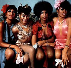 The Pointer Sisters, 1975.