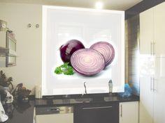 Estor enrollable para cocina