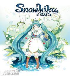 snow miku 2015 | 2015 雪初音公布主视觉图 「SNOW MIKU 2015」将于明年2月 ...