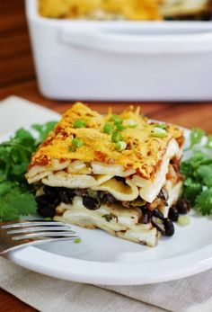 The Kitchen is My Playground: Easy Tex-Mex Ravioli Lasagna