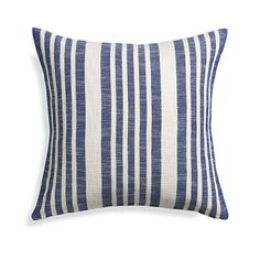 Warm weather is almost here! A contemporary coastal inspired pillow is a great way to welcome summertime.