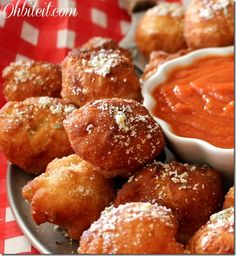 Fried Pizza Poppers - so yummy, but so easy! You'll want to make these over and over, they're that good!