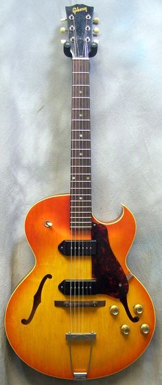 Gibson 1964 Gibson ES-125TDC Sunburst Hollow Body Electric Guitar   GuitarCenter