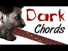 Dark Guitar Chords - Spooky Shapes For Your Music