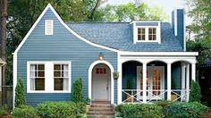 Best Exterior Paint Colors Trends Also Charming Bright Blue Ideas Shutters. Bright Blue Exterior Paint Bright blue exterior paint pictures and enchanting shutters Bright blue exterior house paint Bright blue exterior paint Best Exterior Paint, House Paint Exterior, Exterior Paint Colors, Paint Colors For Home, Cafe Exterior, Exterior Windows, Exterior Houses, Ranch Exterior, Bungalow Exterior