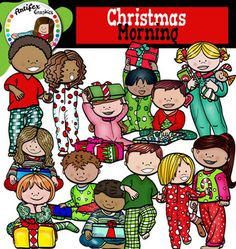 Christmas Morning clip art set features 22 items: 11 graphics in color. 11 graphics in black & white.All images are 300 dpi, Png files.This clipart license allows for personal, educational, and commercial small business use. If using commercially, or in a freebie, credit to my store by a link is required and appreciated.