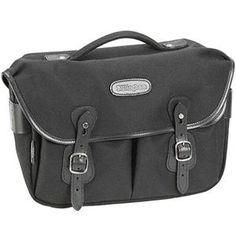 Billingham Hadley Pro Small SLR Bag, Blk w/Blk Leather: Picture 1 regular $300