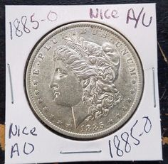 """Item specifics   Seller Notes: """"BEAUTIFUL COIN""""       Composition:   Silver   Mint Location:   New Orleans     Material:   Silver   Country/Region of Manufacture:   United States   ..."""