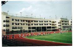 New High School Seen From Field
