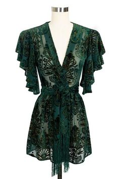 Pin Up Robe - Baroque Velvet – Trashy Diva Lingerie Clothing And Textile, Antique Clothing, Pin Up Dresses, Casual Dresses, Teen Dresses, Midi Dresses, Trashy Diva, Luxury Lingerie, Pin Up Lingerie