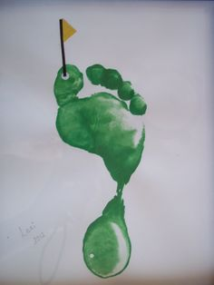 Footprint golf coarse. Great Father's Day gift