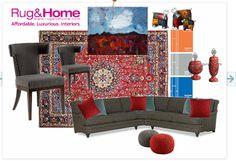 Persian rug Inspiration.