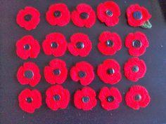 Atheneum Dendermonde 5de leerjaar: Poppies knutselen