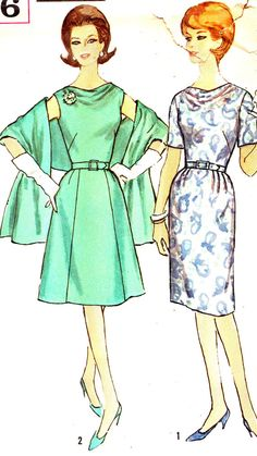 Vintage Sewing Pattern 1960s Simplicity 4816 Mad by paneenjerez, $14.00