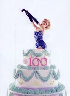 Jumping Out Of Cake Happy Birthday Bakery Cakes 40th Girl Las
