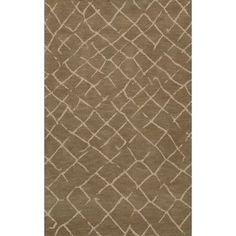 Dalyn Rug Co. Bella Brown Area Rug Rug Size: 4' x 6'