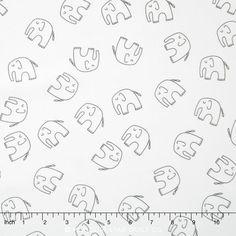 Stella - Ele Pewter Yardage - Lotta Jansdotter - Windham Fabrics