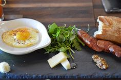 Lamb Sausage and Eggs: brunch at Sona Creamery DC