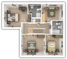 Sonoma State University Beaujolais Village Floor Plan A