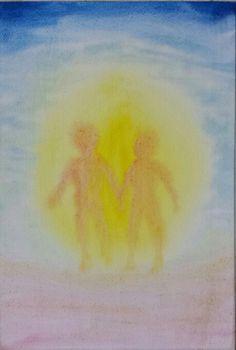 Adam and Eve 3rd Grade Art, Grade 3, Third Grade, Wet On Wet Painting, Painting & Drawing, Watercolor Paintings, Waldorf Kindergarten, Chalkboard Drawings, Color Magic