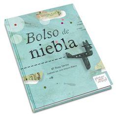 "2.186 ejemplares de ""Bolso de niebla"" viajan a Chile – Pintar-Pintar Editorial | Blog Editorial, Hilario, Books Online, Blog, Cover, Barrero, Chile, Children Books, Illustration"
