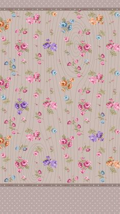 wallpaper with flowers Bow Wallpaper, Pretty Phone Wallpaper, Flowery Wallpaper, Wallpaper For Your Phone, Cellphone Wallpaper, Iphone Wallpaper, Backgrounds Wallpapers, Cute Wallpapers, Printable Scrapbook Paper