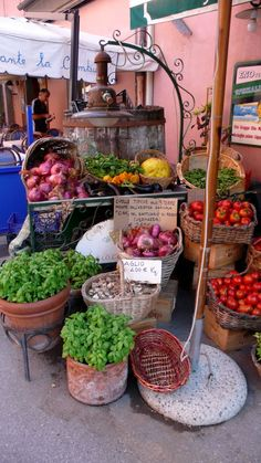 Vegetable Stand | Cinque Terre, Italy
