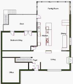 kitchen floor plans | brilliant kitchen floor plans with wood