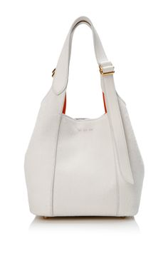 White Mini Faust Bag In Calf Hair And Leather Lining by Nina Ricci for Preorder on Moda Operandi