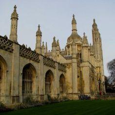 Cambridge, it's so gorgeous there