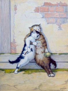 Коты и кошки бывают разные