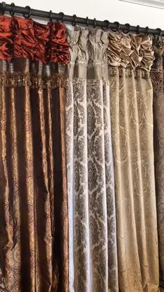 Reilly-Chance Collection Semi-Annual Drapery & Hardware Sale - Friday, March - April Sunday at midnight. Fabric swatches available to confirm color match upon request. Tuscan Curtains, Luxury Curtains, Elegant Curtains, Drapes Curtains, Burlap Curtains, Victorian Curtains, Victorian Windows, Victorian Window Treatments, Custom Window Treatments