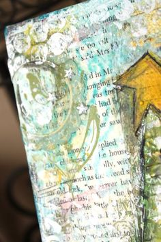 ChristyTomlinson mixed media canvas tutorial
