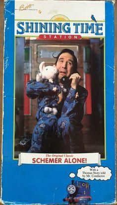 Schemer Alone! VHS Tape Movie Thomas Tank Kid Vision