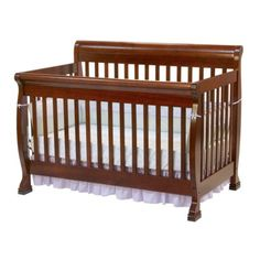 Davinci Kalani 4-in-1 Convertible Crib With Toddler Rail - Cherry