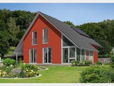 Hausansicht Wintergartenhaus 118