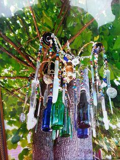 Garden chandelier