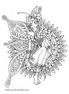 Fairy Tales Coloring Page