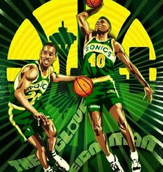 Seattle Sonics--wish they'd come back