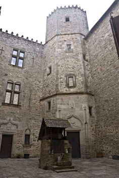 Well in the Courtyard | Medieval Castle de Montbrun, Dournazac, Haute-Vienne, France
