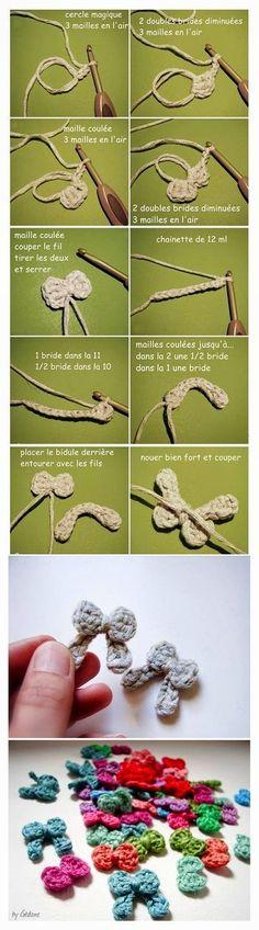 nural-ca herşey: tığ işi minik fiyonk nasıl yapılır (açıklamalı res...