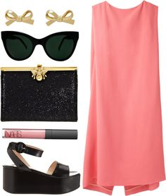 """""""mod glamour"""" by rachel-brynne ❤ liked on Polyvore"""