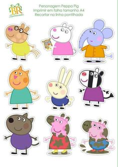 Pig Birthday, Frozen Birthday Party, Peppa E George, Cumple Peppa Pig, Pig Party, Paper Crafts Origami, Birthday Party Decorations, Puppets, Activities For Kids