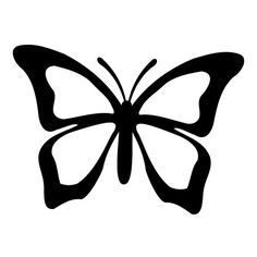 butterfly vector outline - Google Search