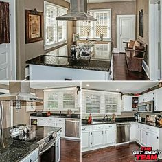 This gorgeous home has a huge kitchen with a lot of cabinets and a 9 ft island with granite counter! Enjoy beautiful views of the backyard from a large  breakfast area !! The kitchen also has a stainless glass range and gourmet food vent  For More Information:  Call or Text: (904) 472-4359  GetSmartTeam.com
